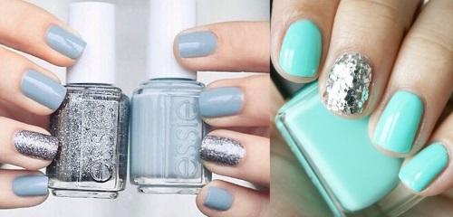Как накрасить ногти двумя цветами. Как правильно