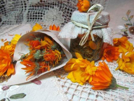 отвар из цветков календулы
