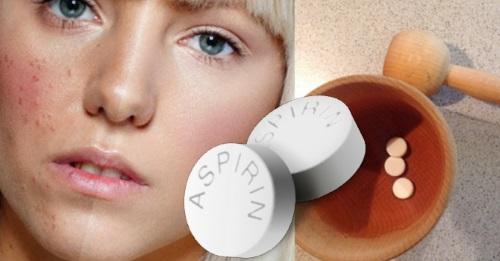 аспирин от красноты и прыщей