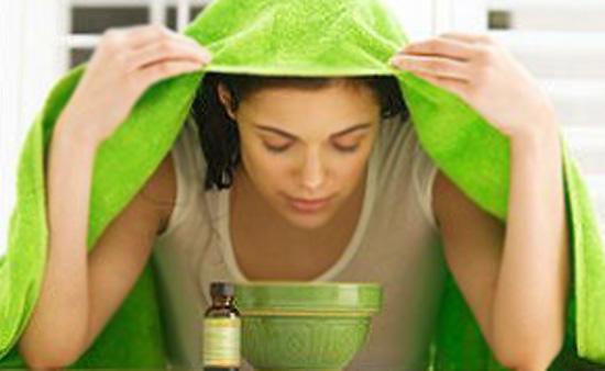 Паровые ванночки для очищения лица