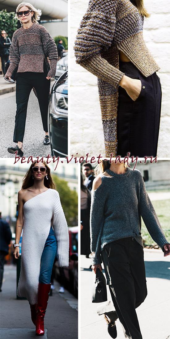 Эффектные модели пуловеров