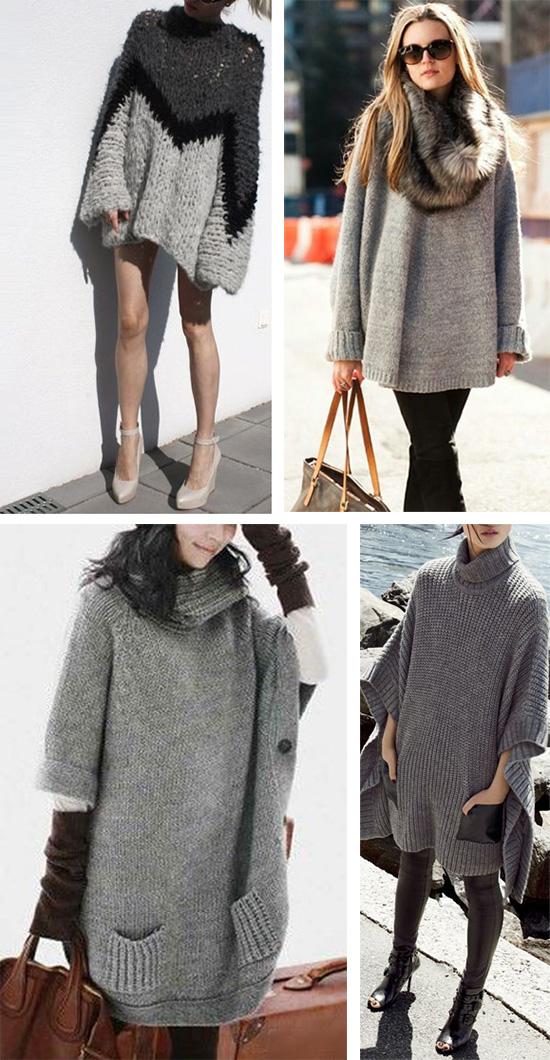 Теплое и уютное платье для прохладного сезона