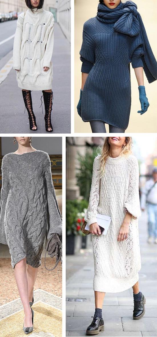 Платье или свитер: два в одном