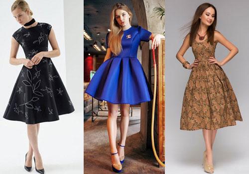 Картинки повседневных платьев