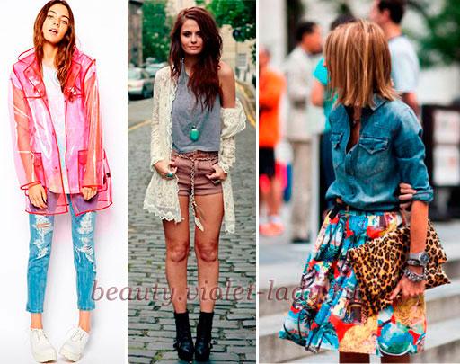 Модные луки на лето