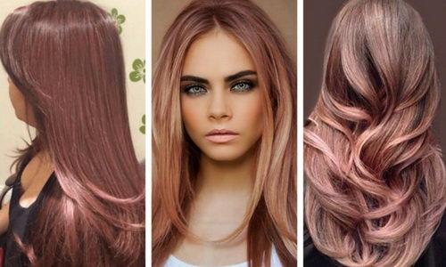 Алый цвет волос