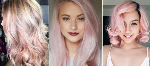 Рубиновый цвет волос