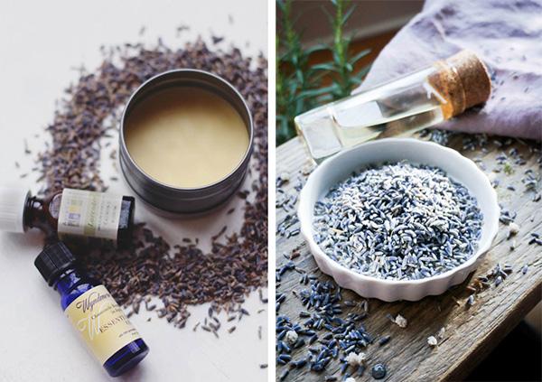 Применение эфирного масла лаванды