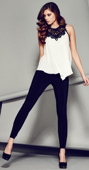фото блузки с брюками
