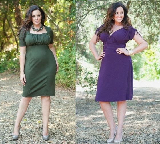 платья для девушек с большими ягодицами