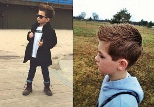 Модные стрижки мальчикам названия