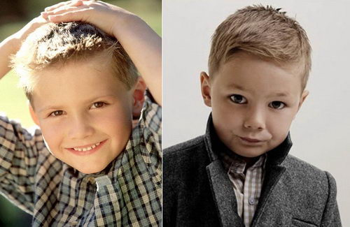 Модные причёски для мальчиков 10 лет фото