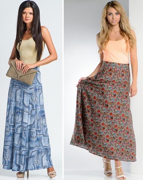 Стиль юбка и майка