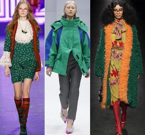 5e2c6ed134bc Модные сочетания цветов в одежде 2017-2018 - фото образов