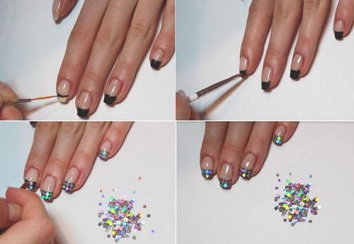 Блестки палочки для ногтей